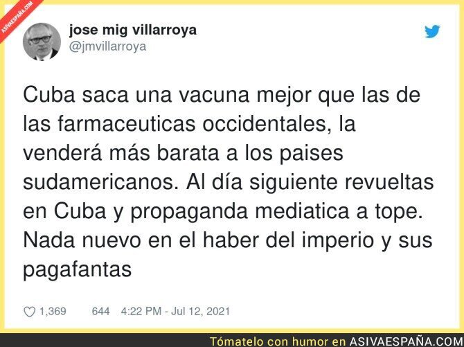833354 - Muchos intereses contra Cuba