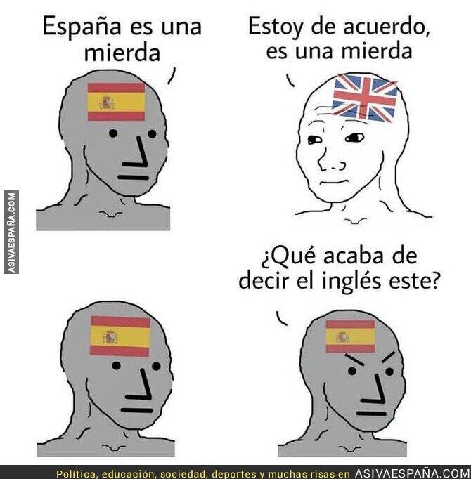 833802 - Solo los españoles se meten con España