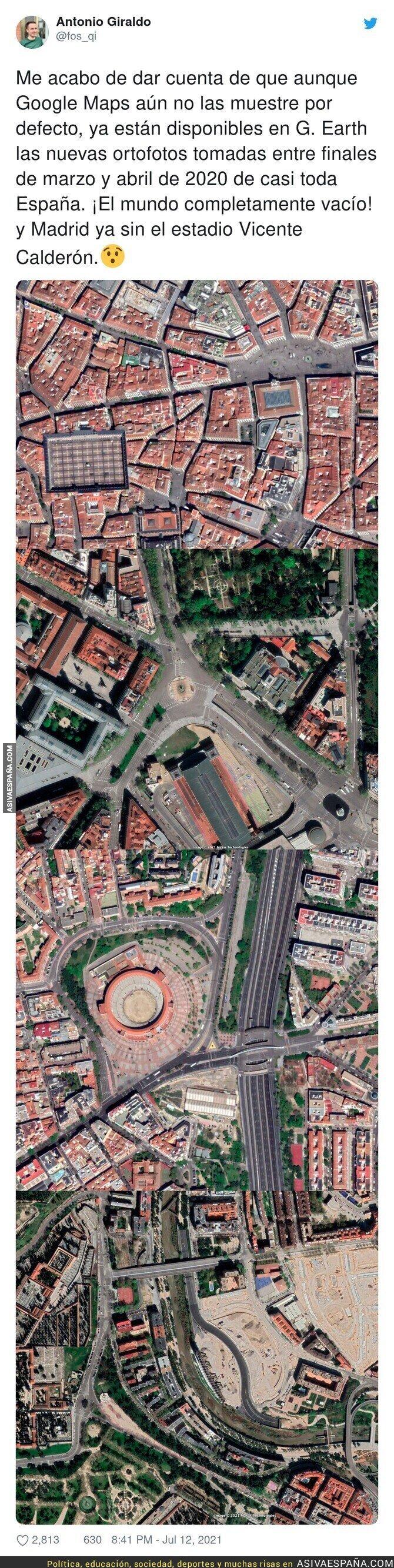 834142 - Una España vacía ya en Google Maps