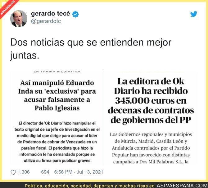834544 - El PP de Ayuso contribuyendo a las fake news de Okdiario