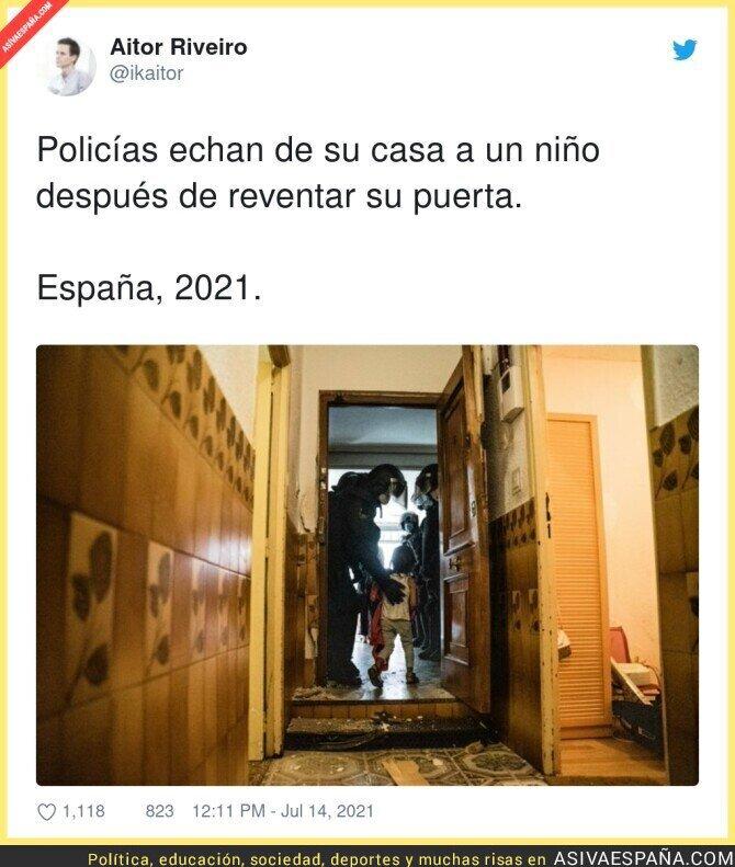 835724 - Que triste ver imágenes así en España...