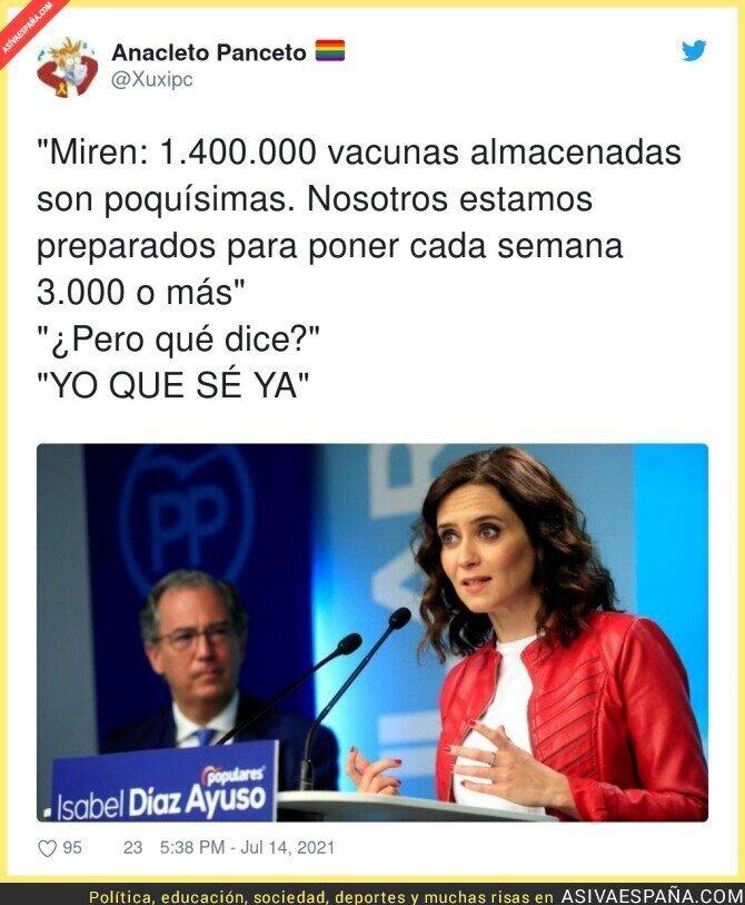 835944 - A Isabel Díaz Ayuso le funciona ser así...
