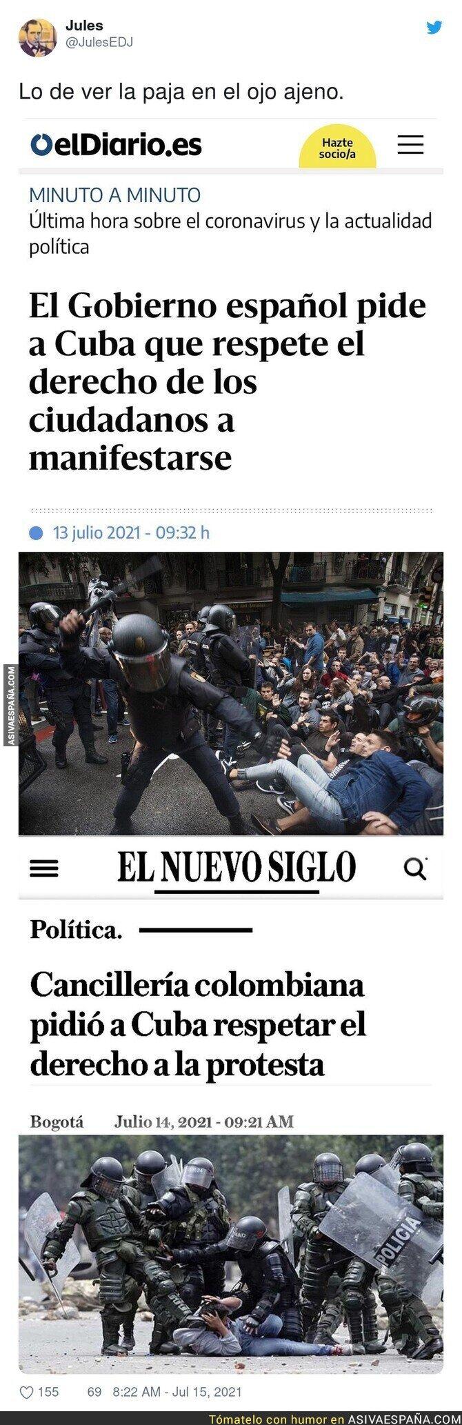 836584 - España es la menos indicada para hablar sobre Cuba