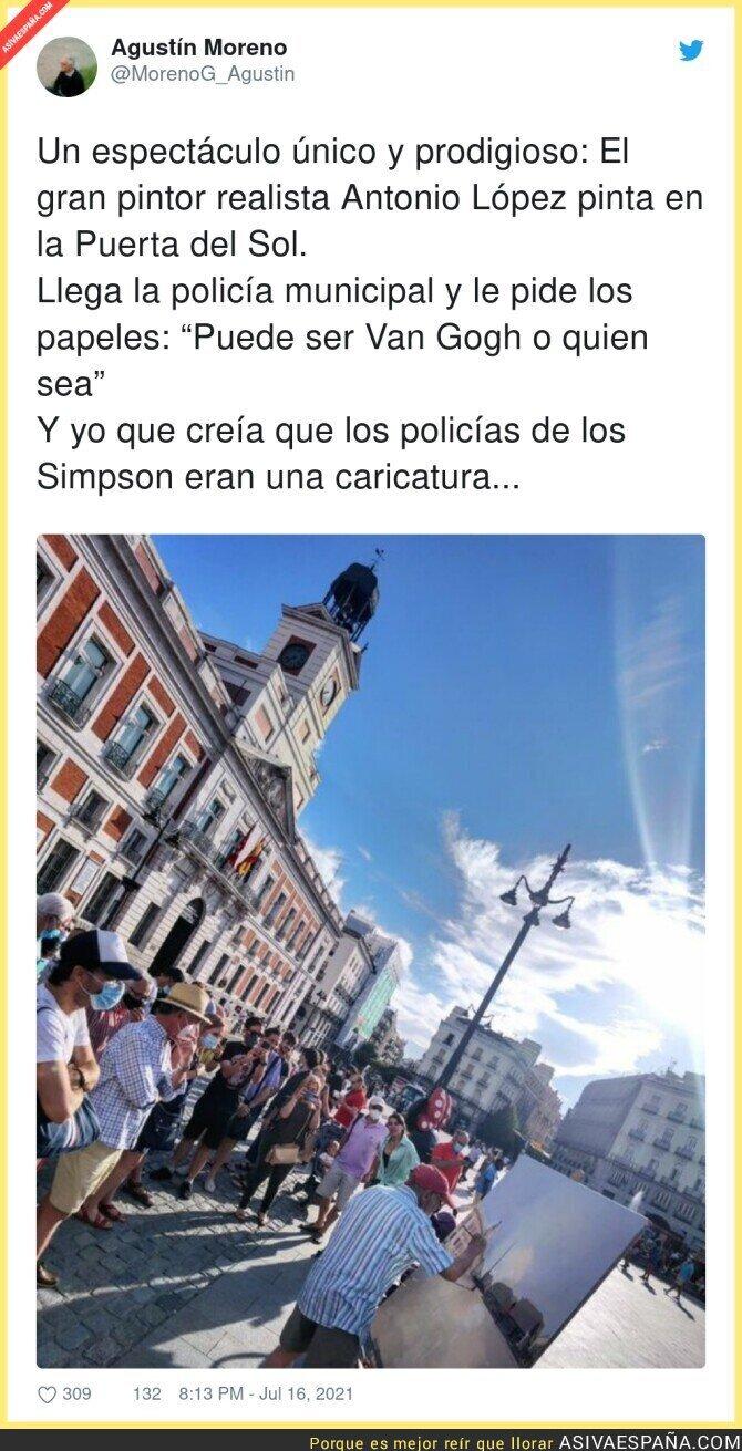 839047 - La Policía de Madrid no tiene mejores cosas que hacer