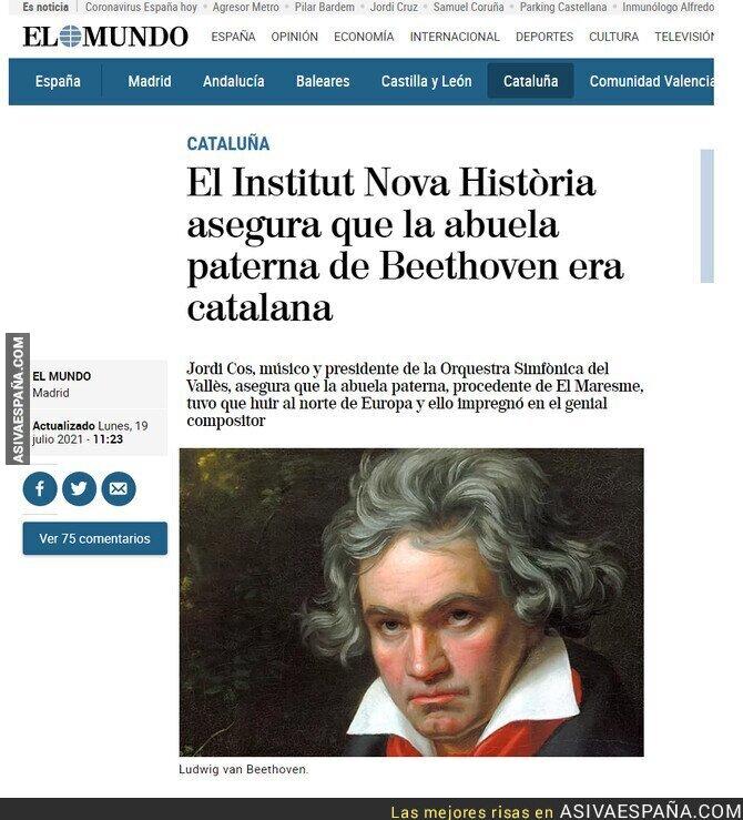 841755 - Su abuela era catalana y Beethoven compuso