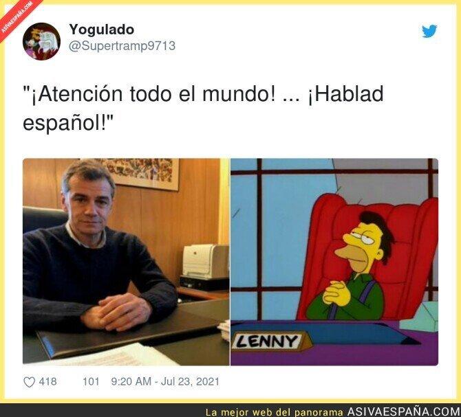 846908 - Así se ve a Toni Cantó en su Oficina del Español