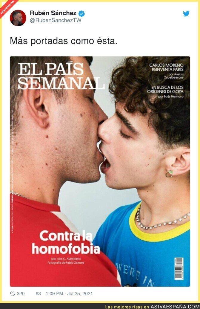 849200 - Un aplauso para esta gran portada de 'El País Semanal'