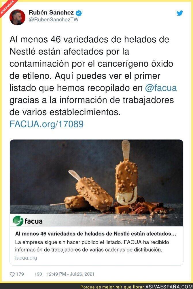 850232 - Cuidado con los helados de Nestlé