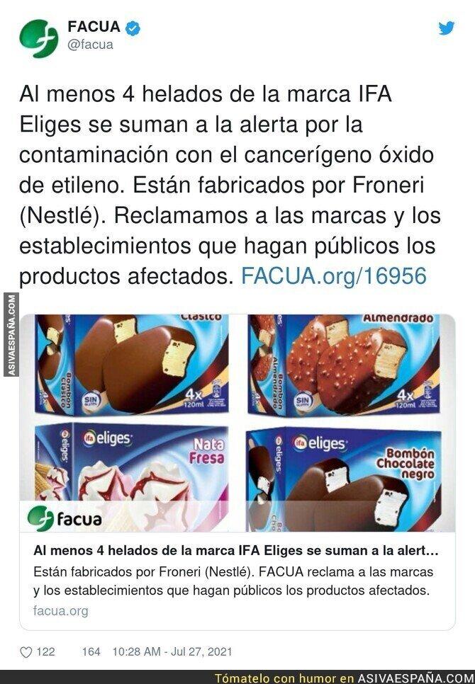851332 - Cuidado con los helados. Máxima alerta