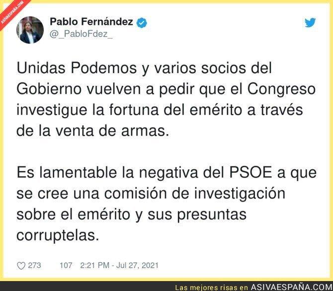 851528 - El PSOE es cómplice del Rey