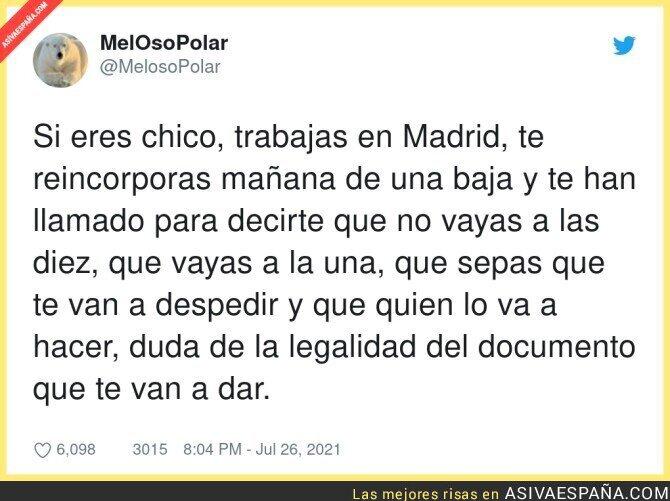 851602 - La situación en la que estamos en España...