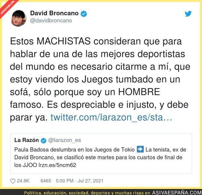 851709 - David Broncano salta a por La Razón y con mucha razón