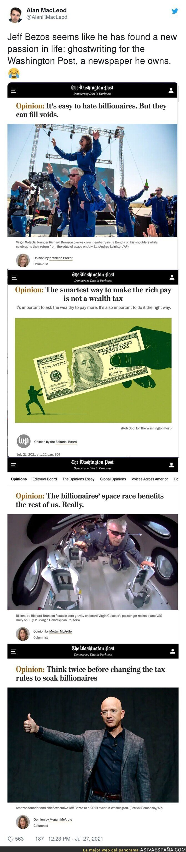 851766 - Jeff Bezos para nada influye en 'The Washington Post'...