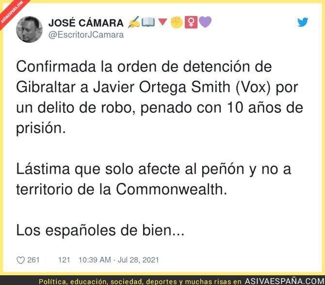 852593 - Javier Ortega Smith es un tipo peligroso y anda suelto