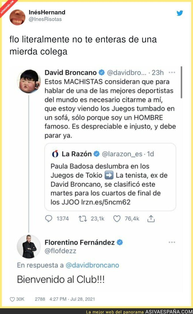 853778 - Florentino Fernández y su ridículo más espantoso