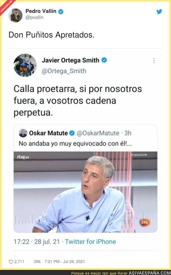 854000 - Javier Ortega Smith el indignado