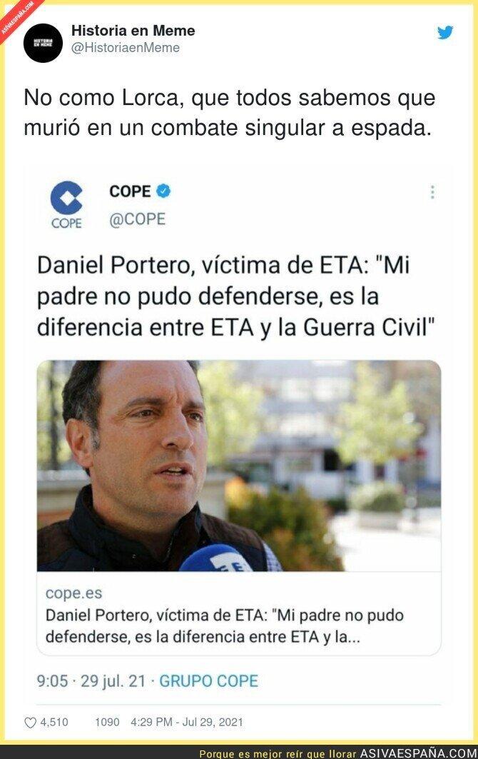 854662 - Diferencias entre ETA y la Guerra Civil