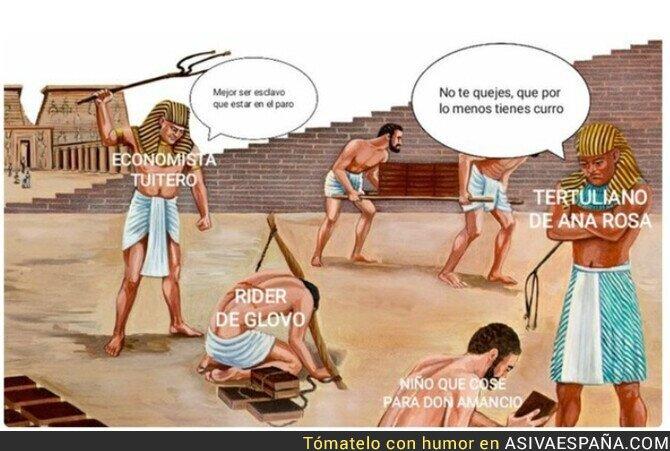 857105 - Sobre la situación de los esclavos que hay en España