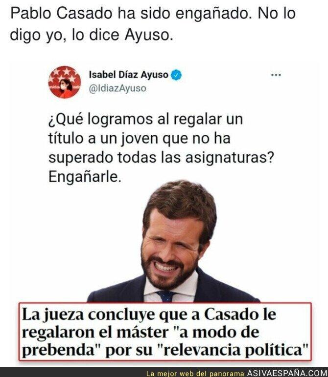860209 - Isabel Díaz Ayuso arremete indirectamente contra Pablo Casado