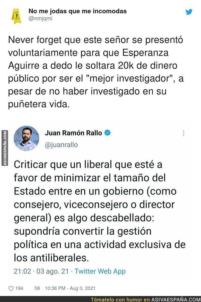 861354 - La cara más dura de Juan Ramón Rallo