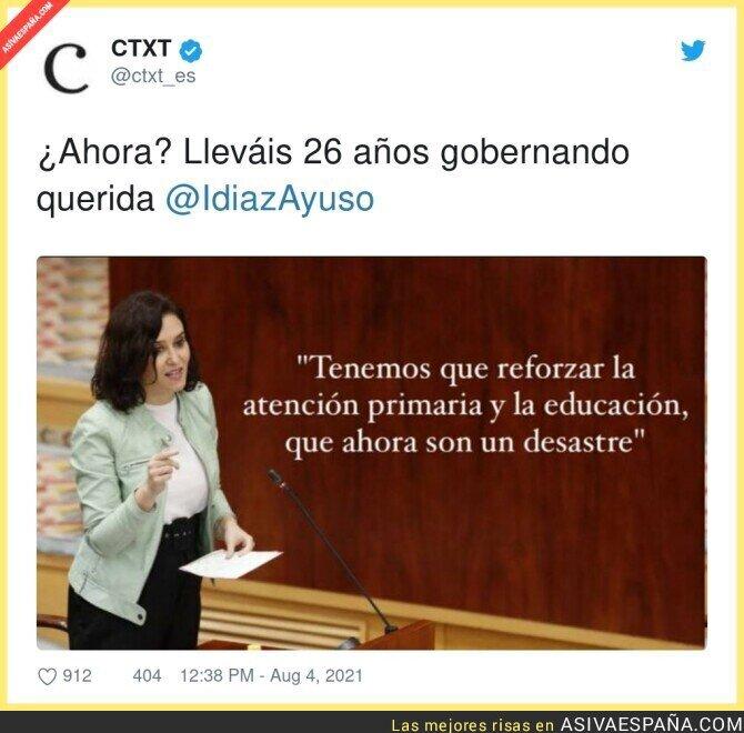 861687 - Ahora se da cuenta Isabel Díaz Ayuso
