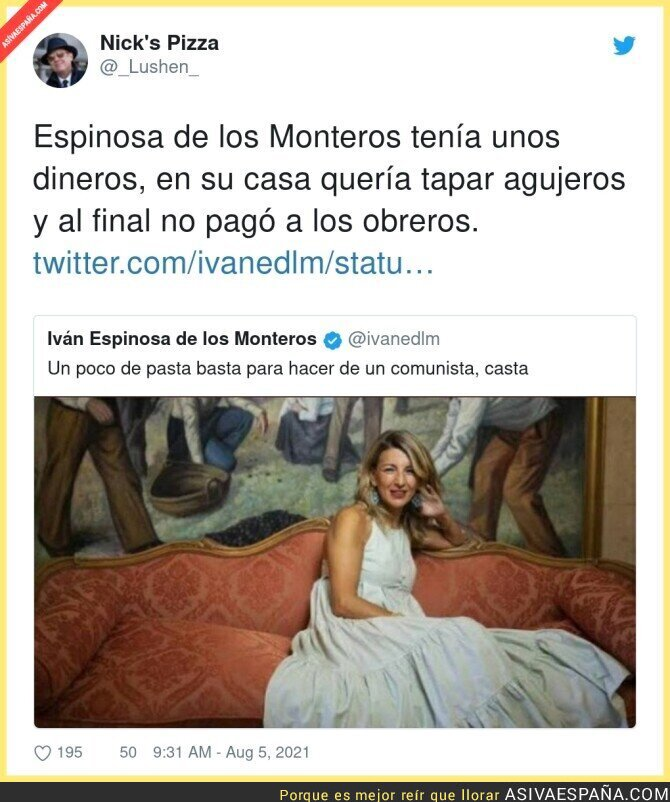 862660 - Iván Espinosa de los Monteros debe estar muy callado