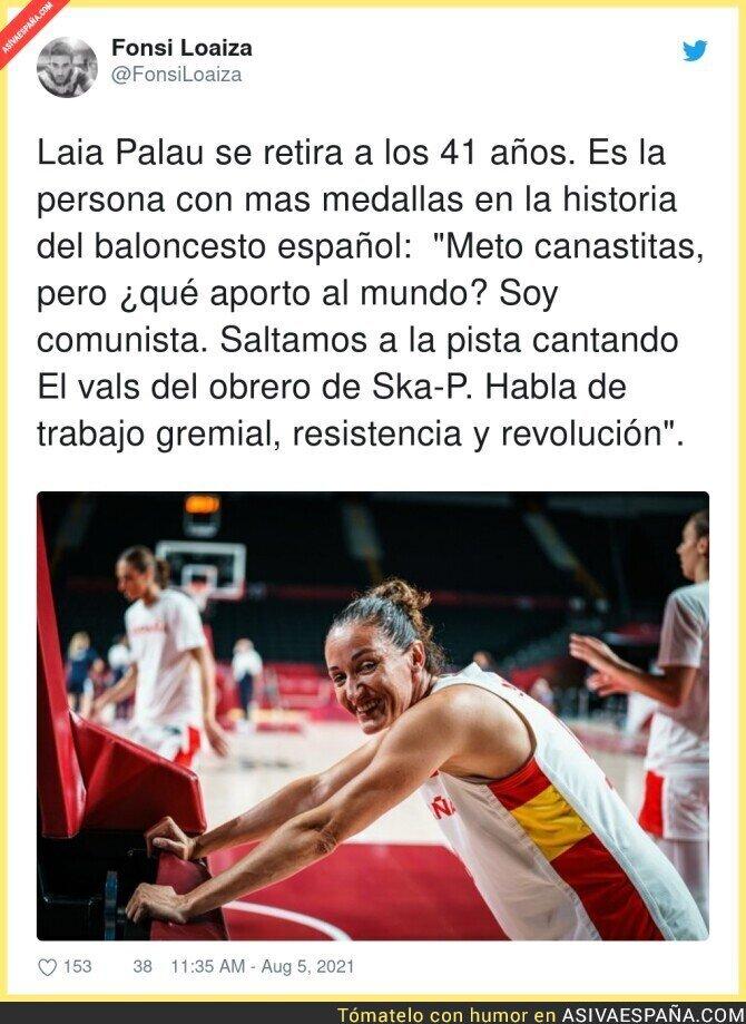 862675 - Laia Palau, toda una leyenda del baloncesto