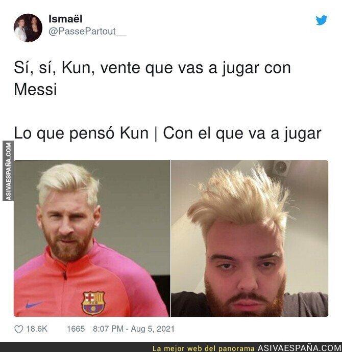 863451 - El Kun es el gran perdedor de la historia con Messi fuera del Barça