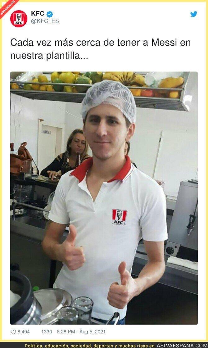 863494 - Messi se une a KFC