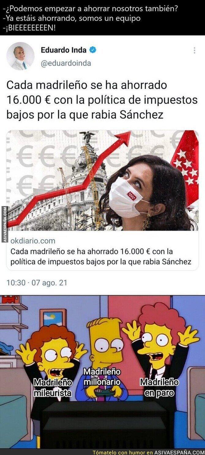 866699 - En Madrid quien no es millonario es porque no quiere