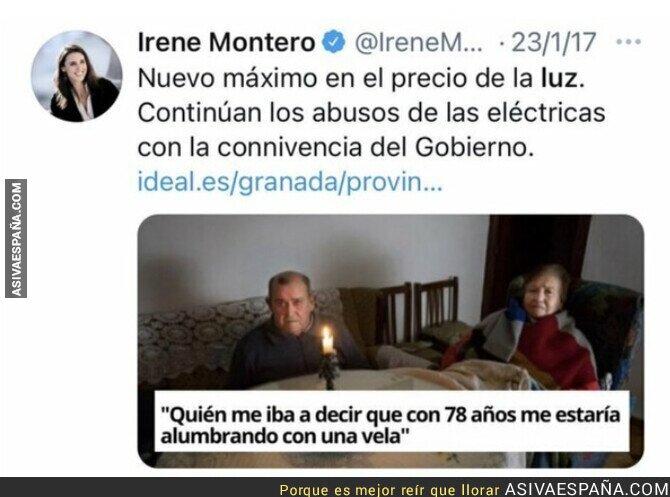 868869 - Ojalá Irene Montero estuviese en el Gobierno para hacer algo