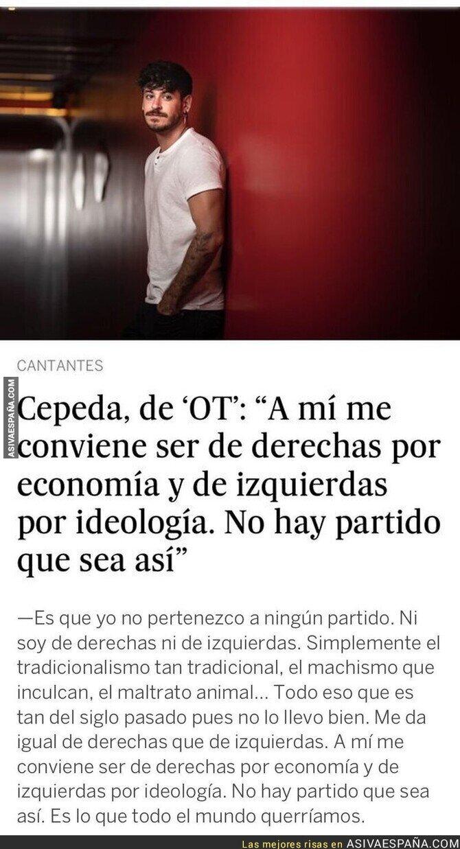 870310 - Las polémicas palabras de Luis Cepeda sobre su ideología que le dejan muy retratado