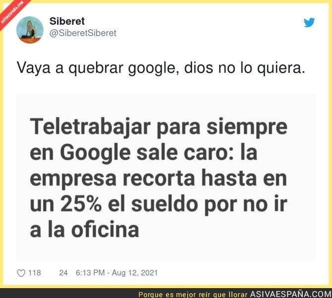 870903 - Google no superará esta crisis