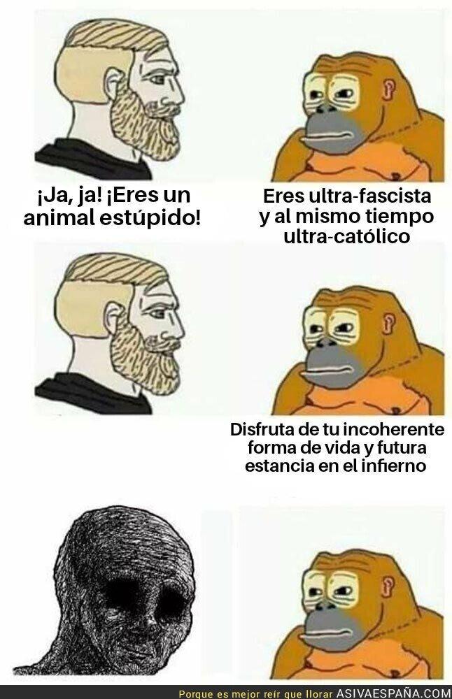871931 - Fachilla español es domesticado por un mono en directo, termina mal, no creerás lo que pasó después