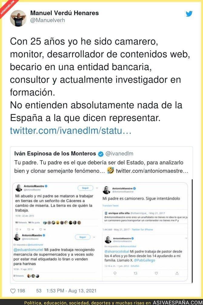 872161 - Lo de Iván Espinosa de los Monteros es...