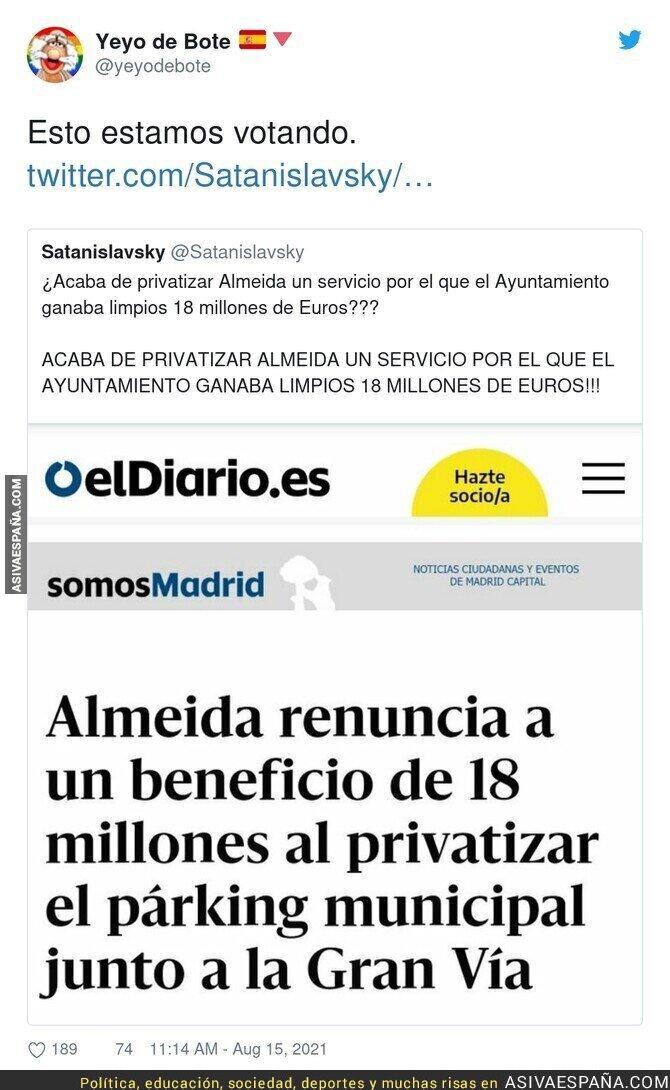 873672 - Lo que pasa en Madrid no es normal