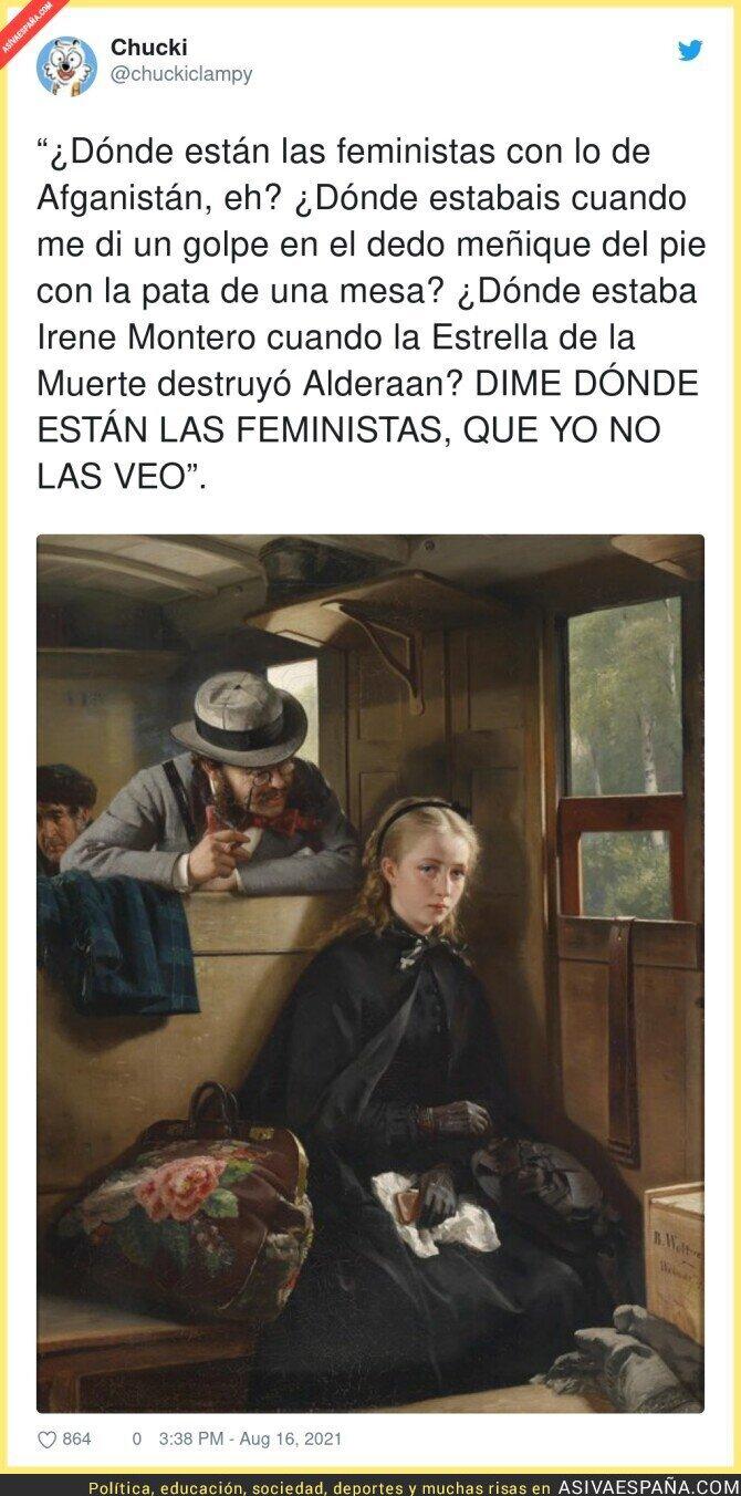 875406 - ¿DÓNDE ESTÁN LAS FEMINISTAS?
