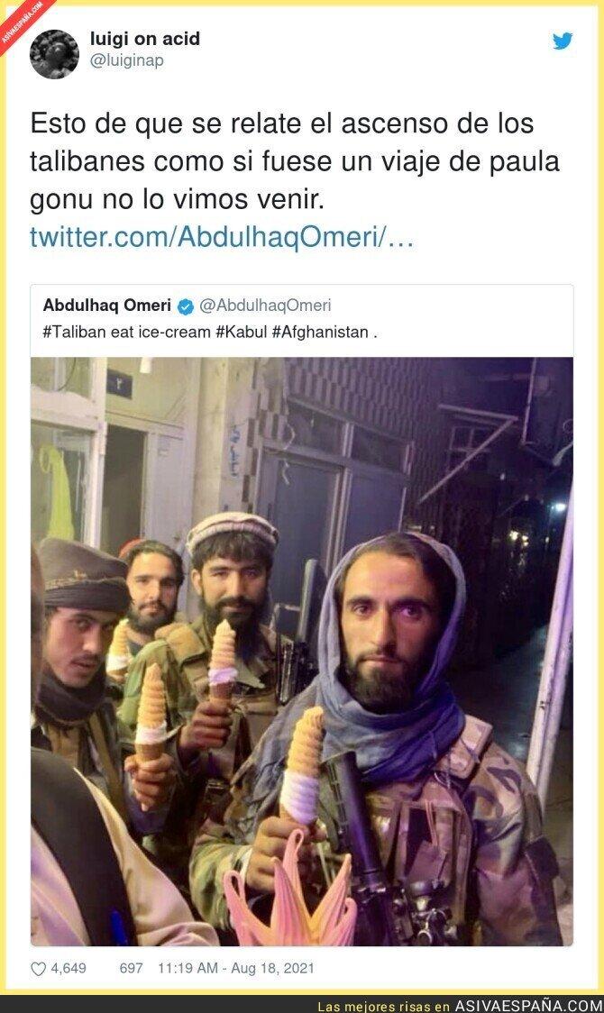 877603 - Los talibanes son los malos de la película por si anda algún despistado