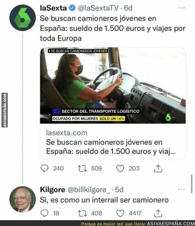 878919 - 1500€ para un camionero que viaje por Europa es un insulto