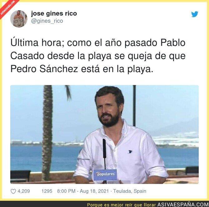 879665 - Lo de Pablo Casado es de chiste