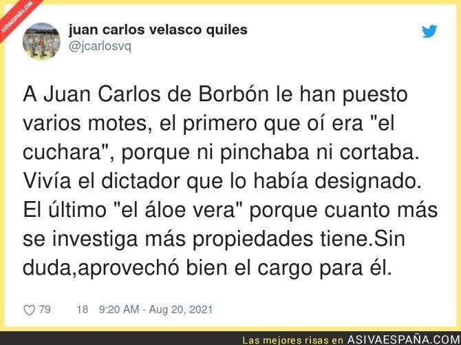 880111 - Los motes de Juan Carlos