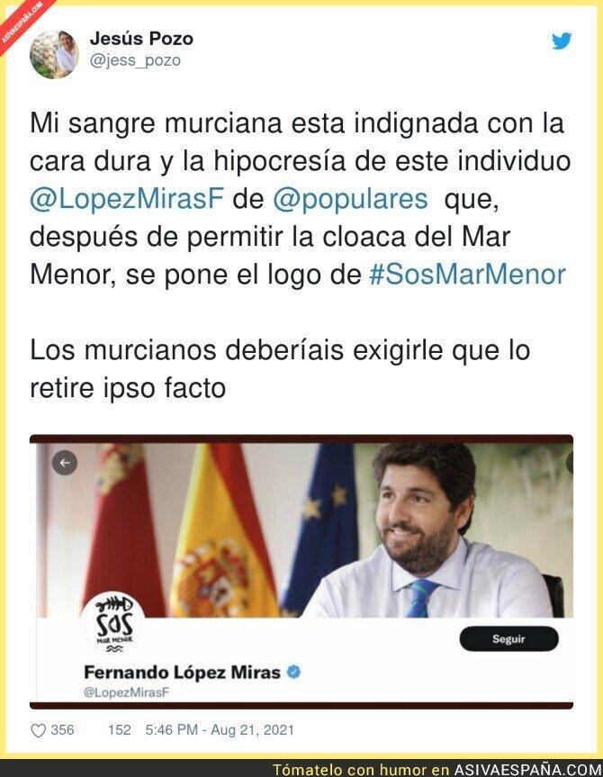 881782 - Vergüenza absoluta lo de Fernando López Miras