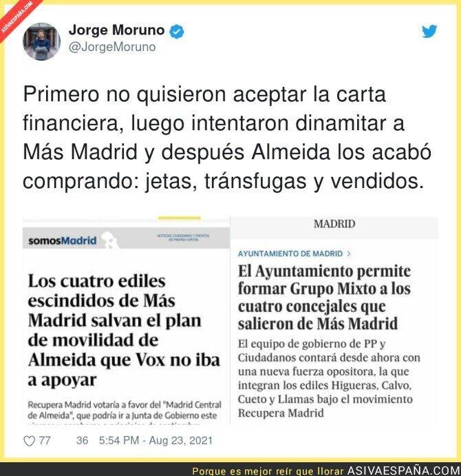 883550 - Más Madrid se vende al PP