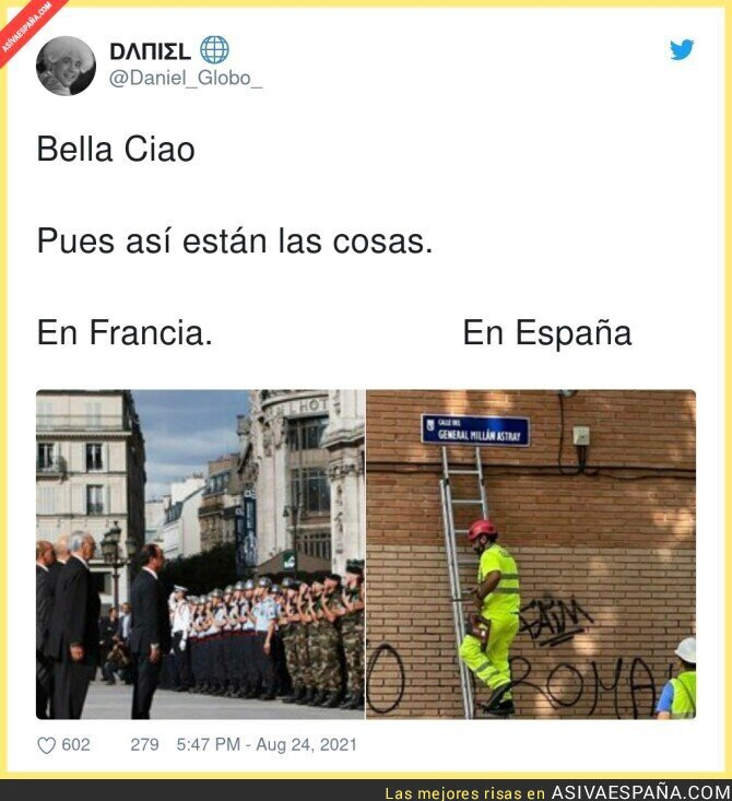 884818 - Diferencias más que claras entre Francia y España