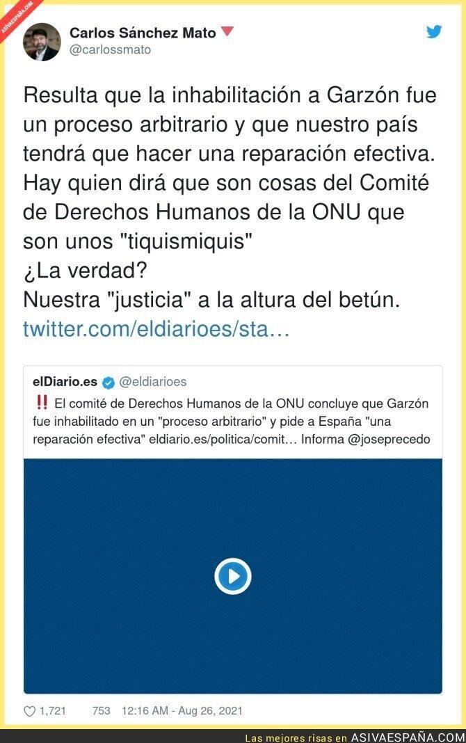 886061 - La justicia de España vuelve a quedar en ridículo
