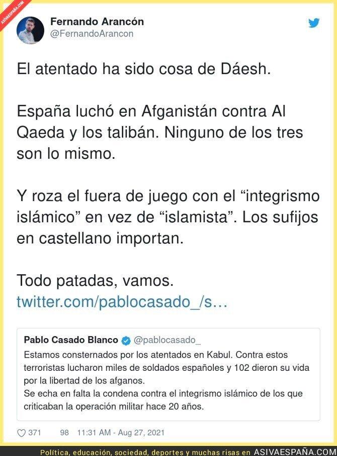 887392 - Aquí se nota la ignorancia de Pablo Casado