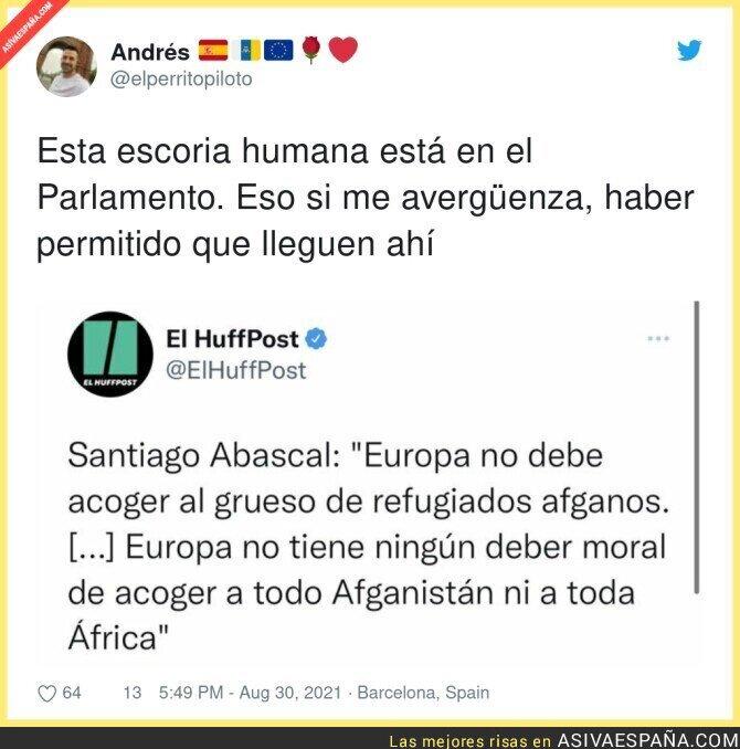 891134 - Santiago Abascal no tiene corazón por nadie