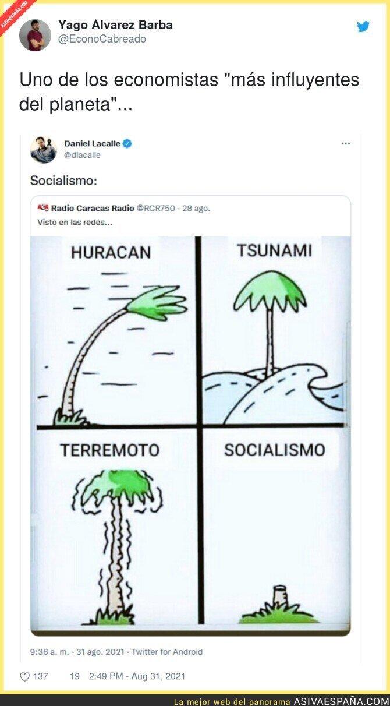 892034 - El socialismo según el prestigioso Daniel Lacalle