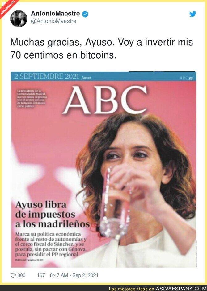 894128 - Isabel Díaz Ayuso hace millonario a todo Madrid