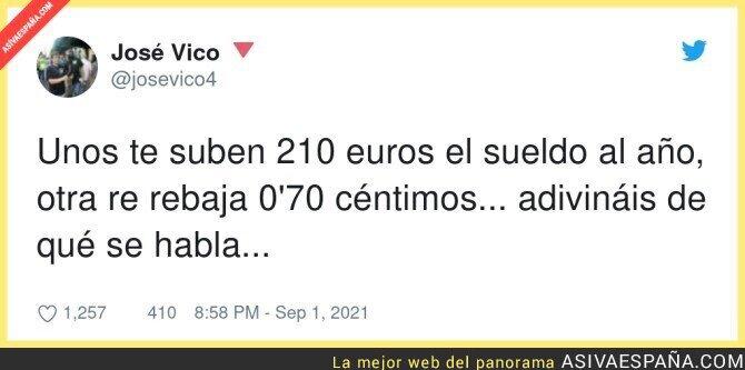 894337 - Que no nos está rebajando nada! Parad ya de difundir eso porque es falso. Los impuestos de los ciudadanos no son esos, por @josevico4